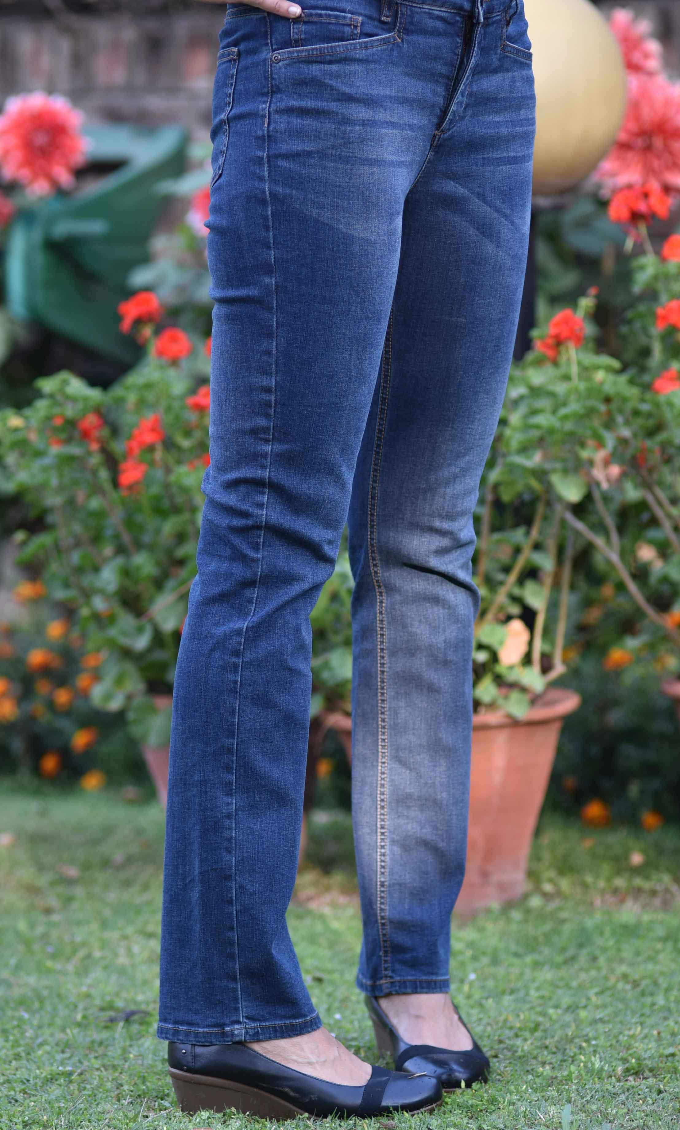 The JJill Smooth Fit Straight Leg Jeans are beautiful! Image©gunjanvirk