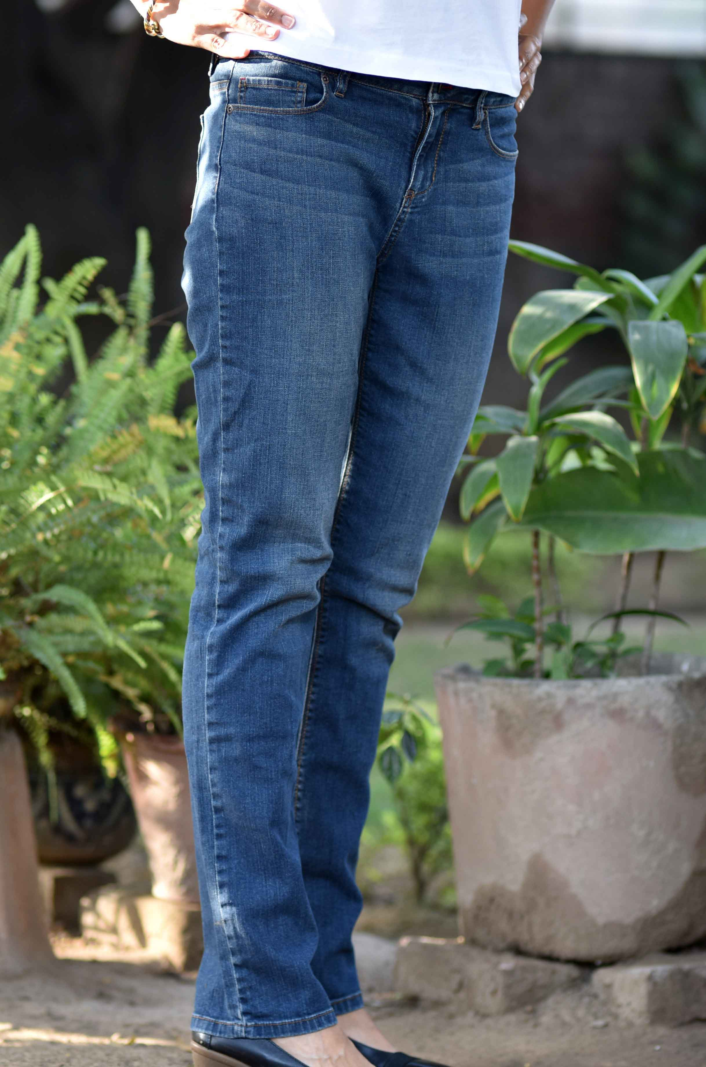 The JJill Authentic Fit Slim Leg Jeans, image©gunjanvirk.