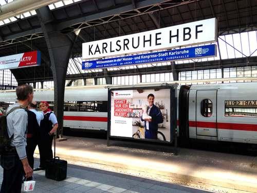 Karlsruhe train station, image©gunjanvirk