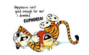 Calvin in euphoria with his tiger Hobbes! Image from redpaper.in