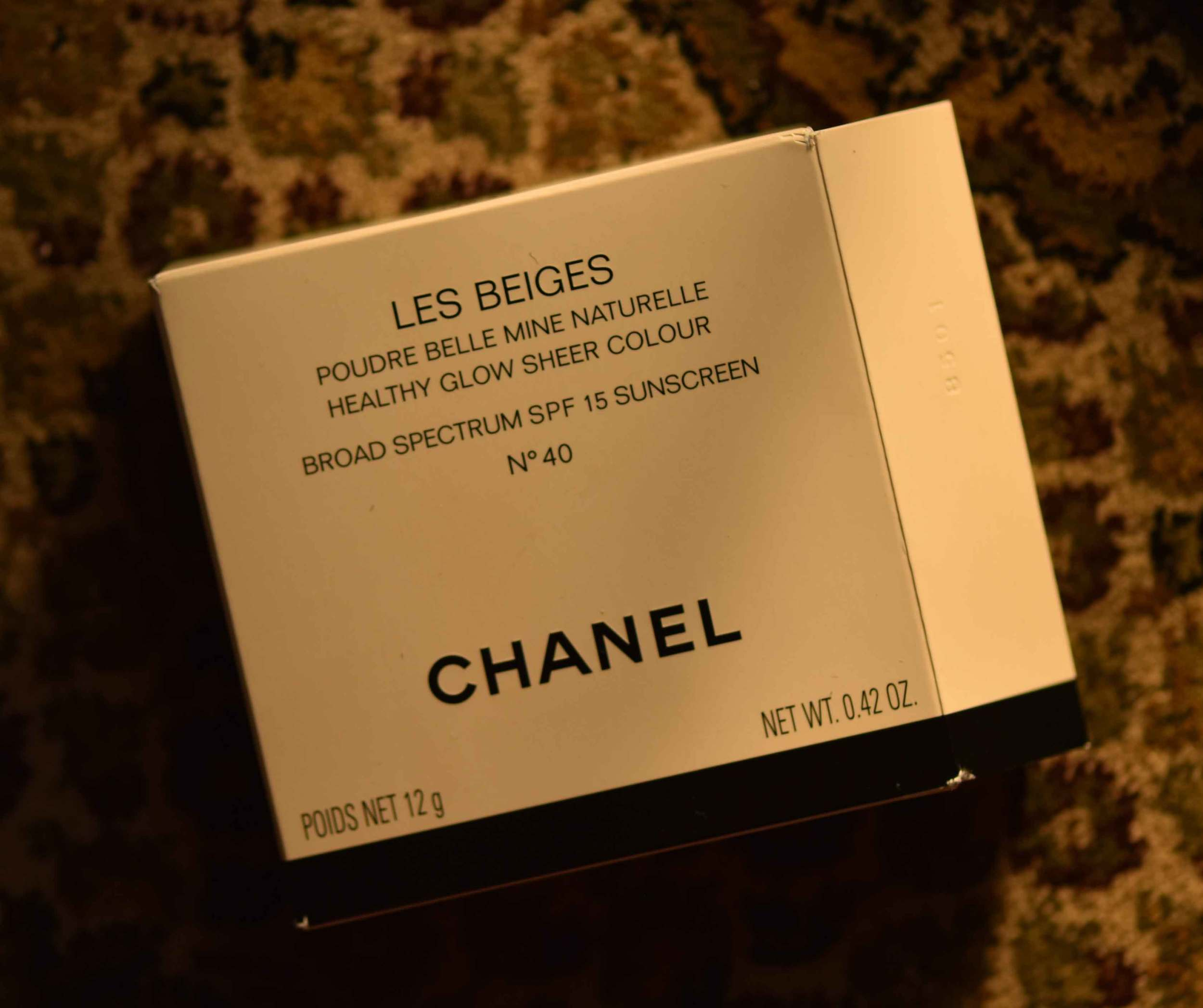 The Chanel Les Beiges Healthy Glow Sheer Color. Image©gunjanvirk