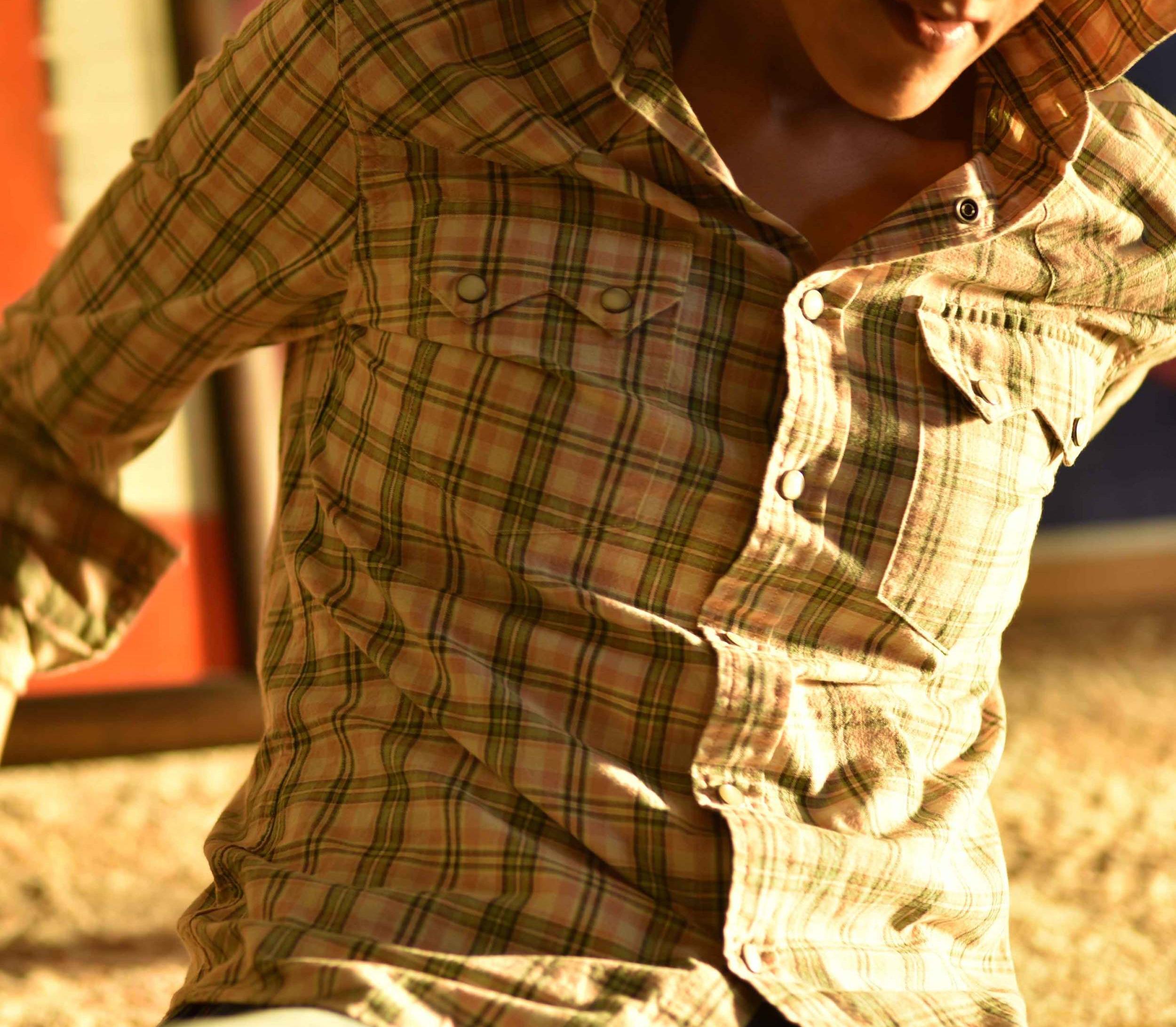 My Ralph Lauren RRL slim fitting western shirt. Image©sourcingstyle.com