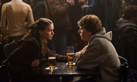 A scene from the film The Social Network.
