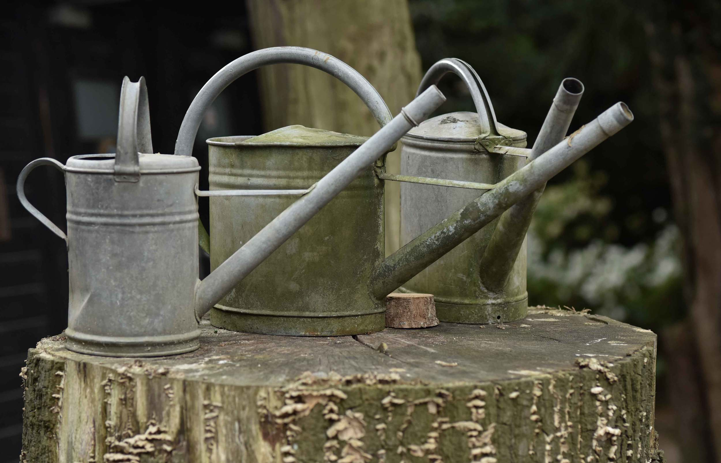 Water cans in a park, Ratingen, Germany. Image©sourcingstyle.com, Photo: Nicola Nolting