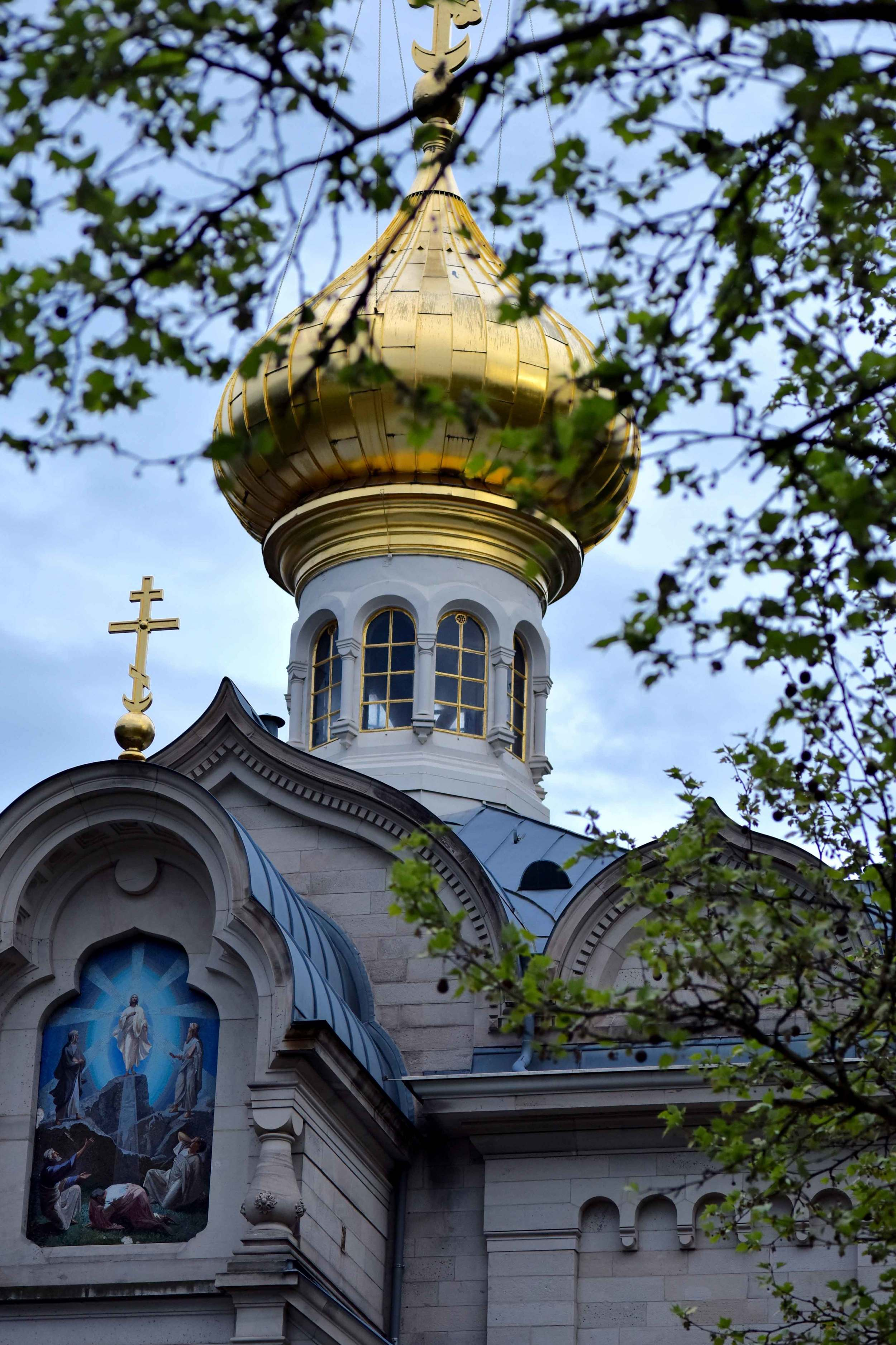 The Russian church, Baden Baden, Germany. Image©sourcingstyle.com