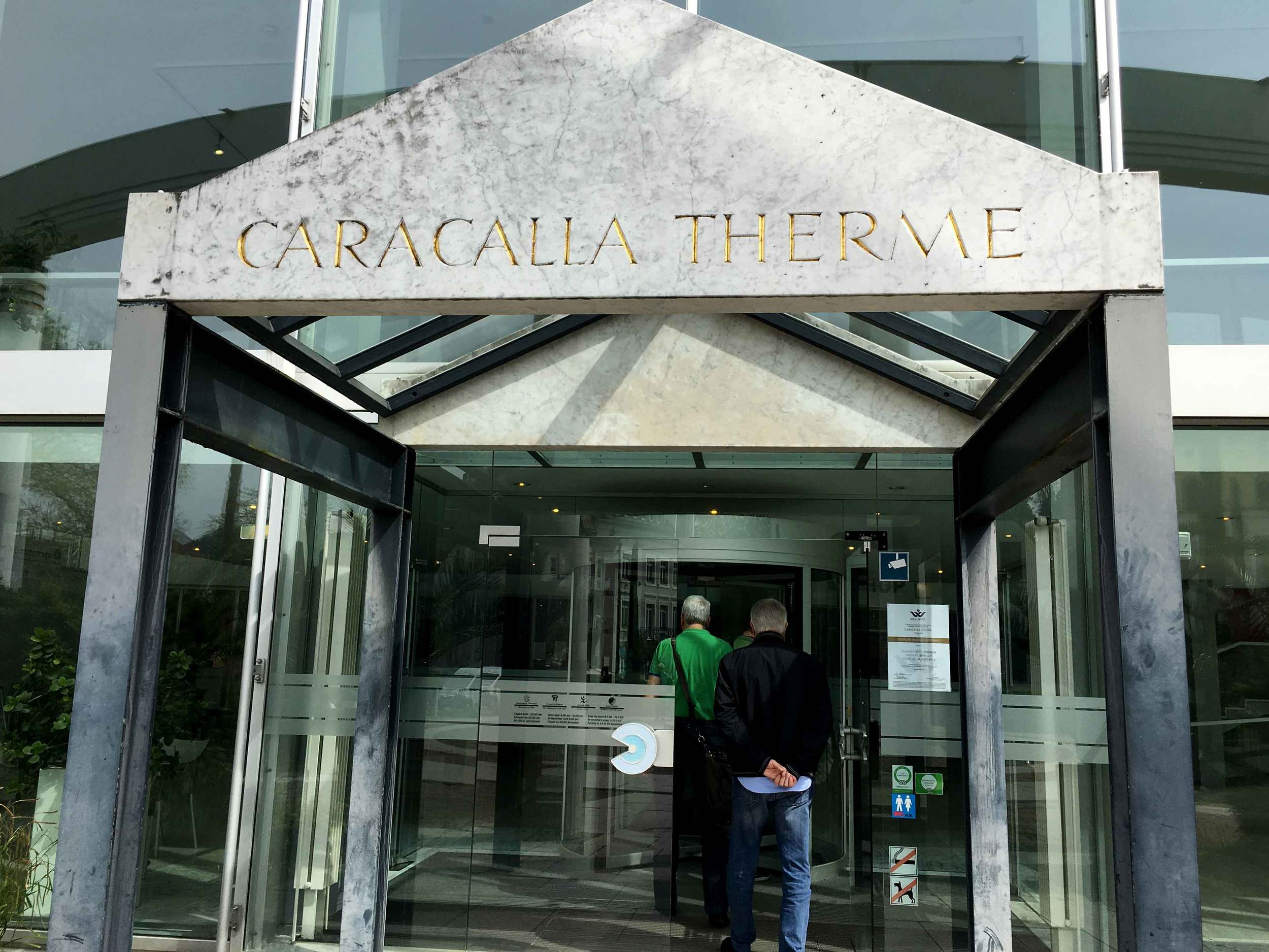 Caracalla Therme, Baden Baden, Germany. Image©sourcingstyle.com