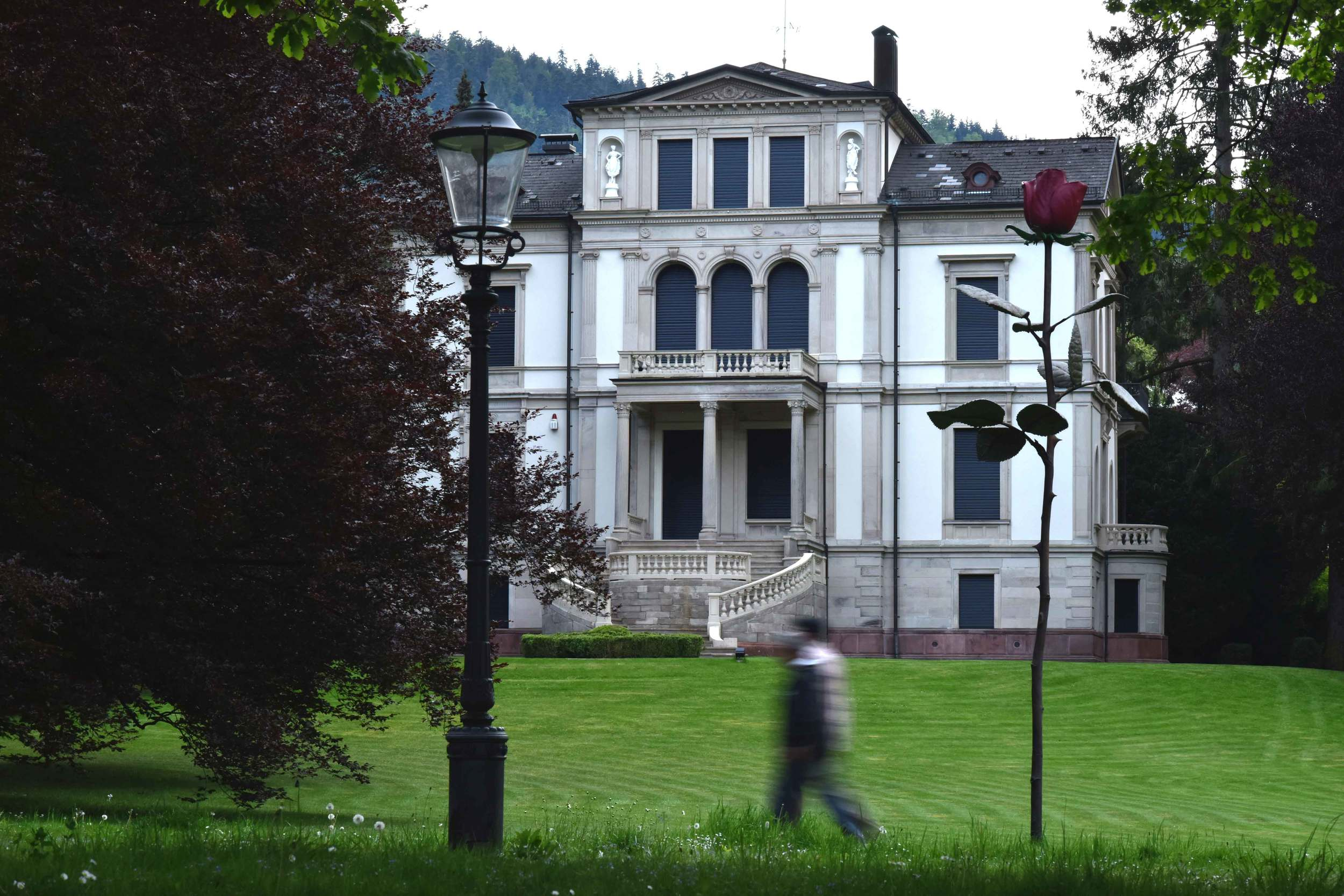 A mystical building, 18th century architecture, Baden Baden, Germany. Image©sourcingstyle.com