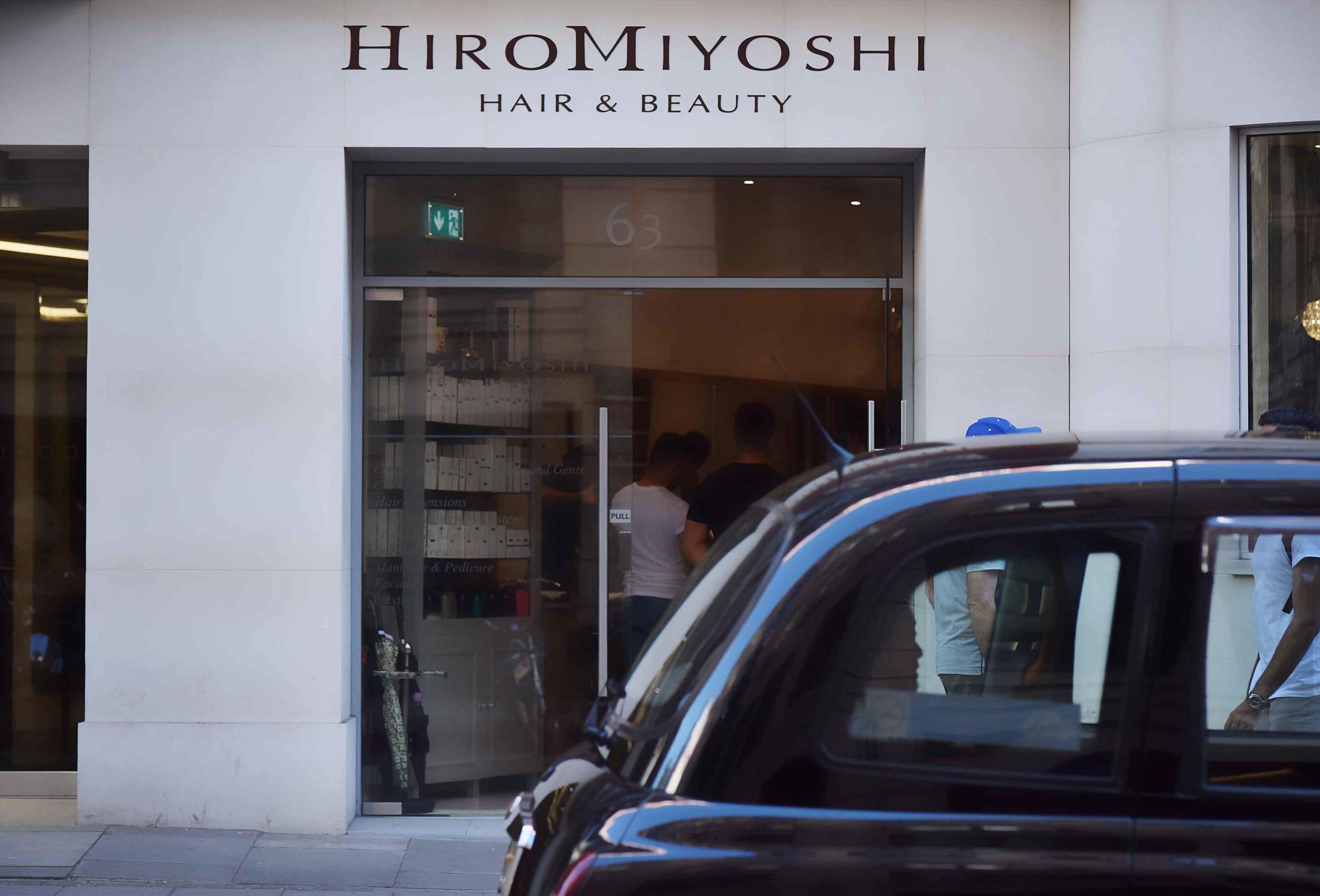Hiro Miyoshi salon, Mayfair, London, UK. Image©sourcingstyle.com