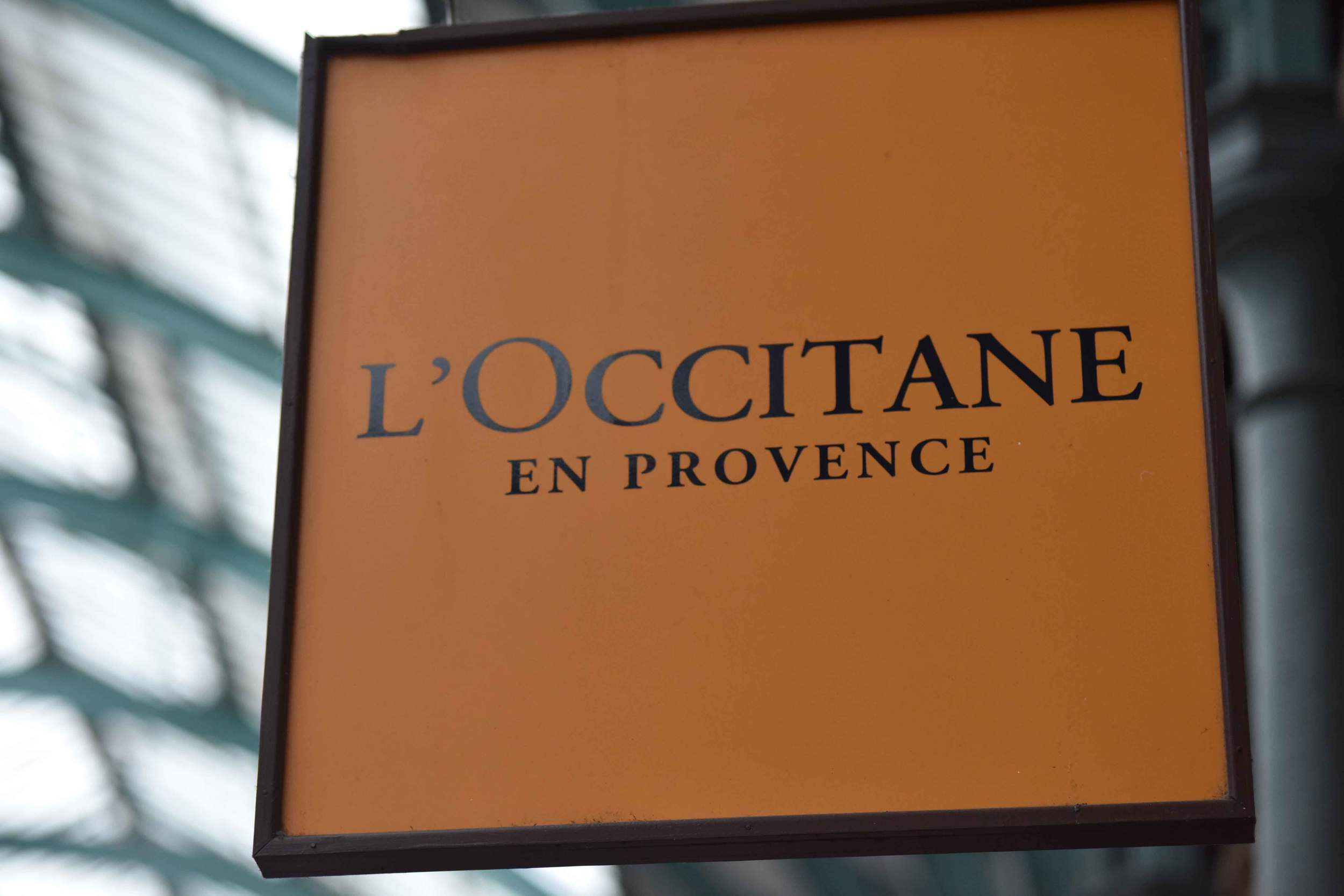 My favorite L'Occitane store, Apple Market, Covent Garden, London, UK. Image©sourcingstyle.com