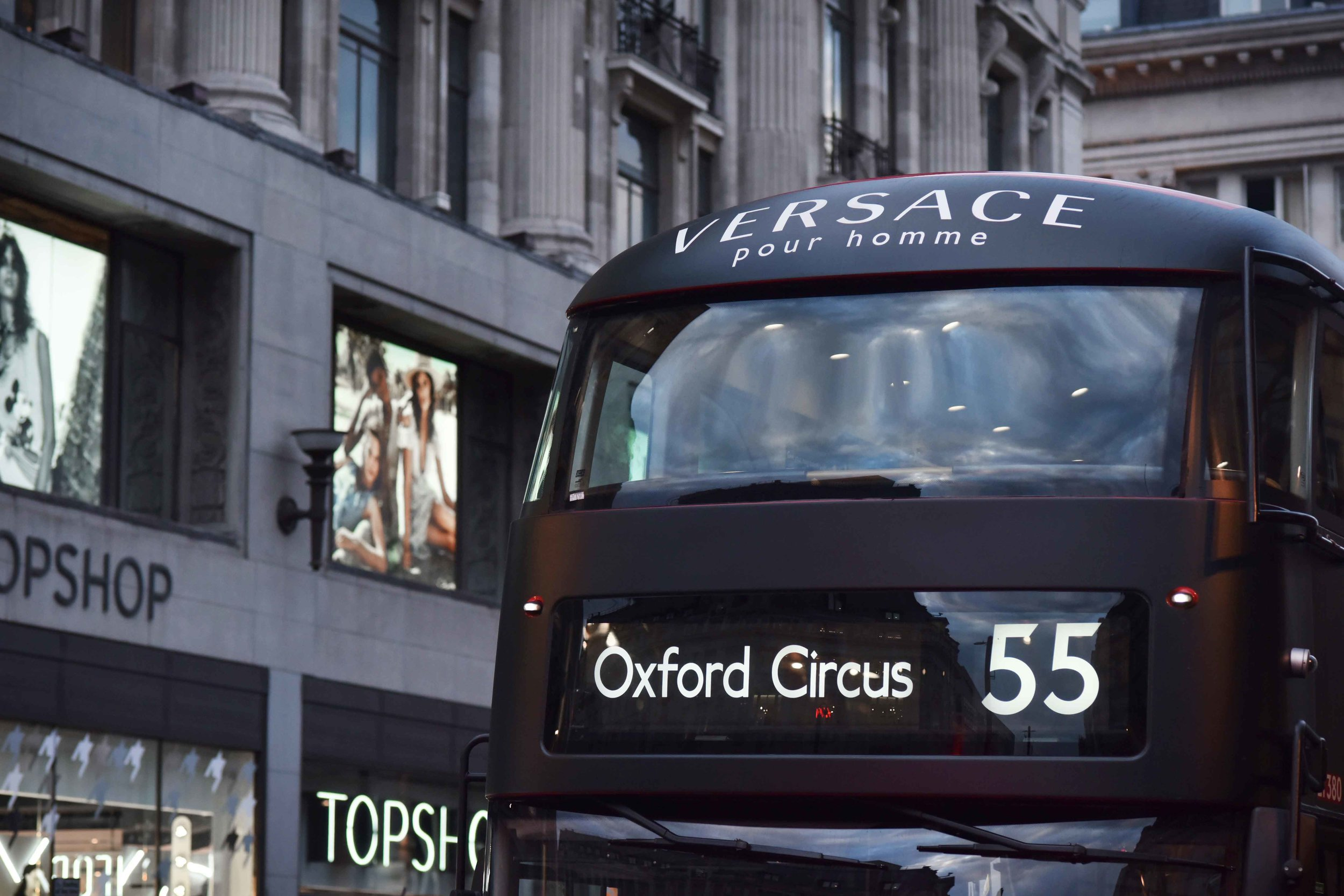 Oxford Circus, London, U.K. Image©sourcingstyle.com