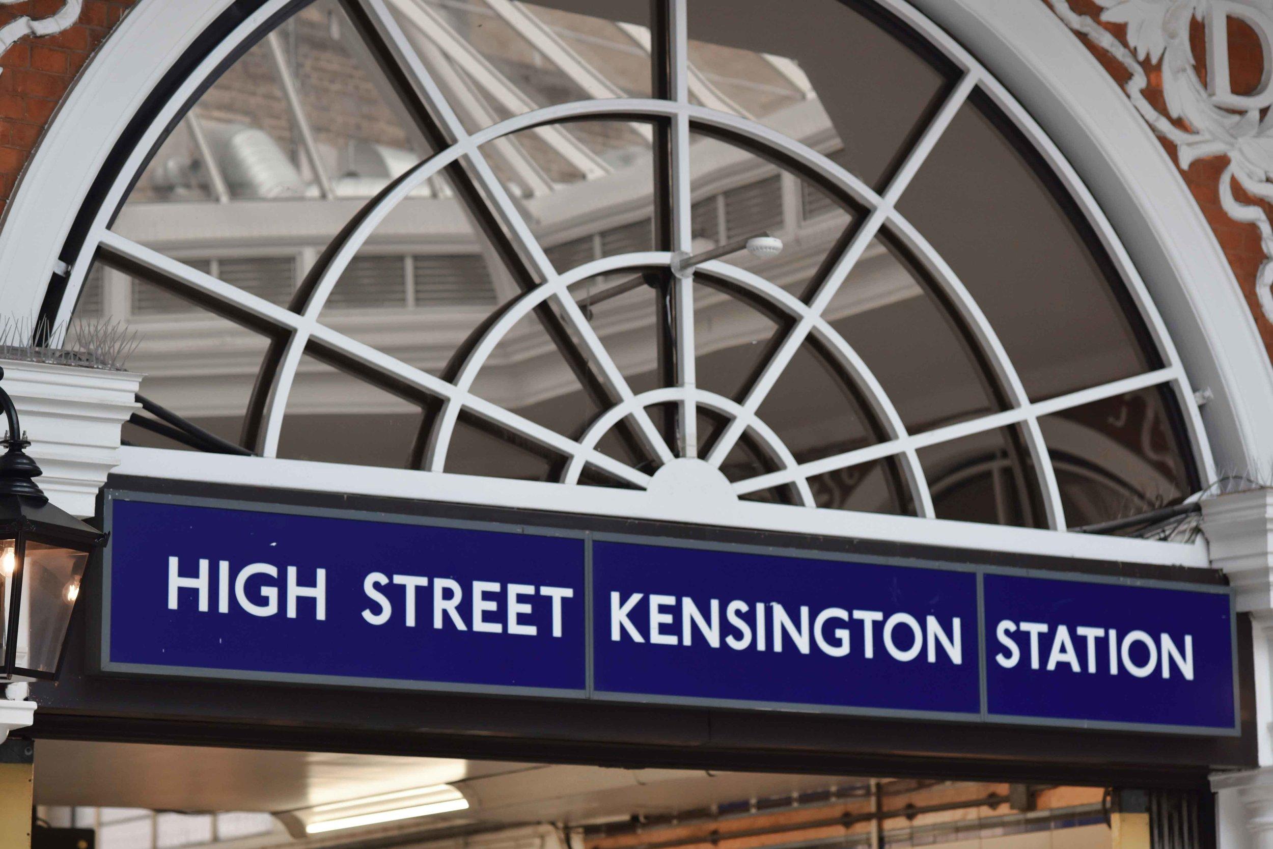 High Street Kensington, London. Image©sourcingstyle.com