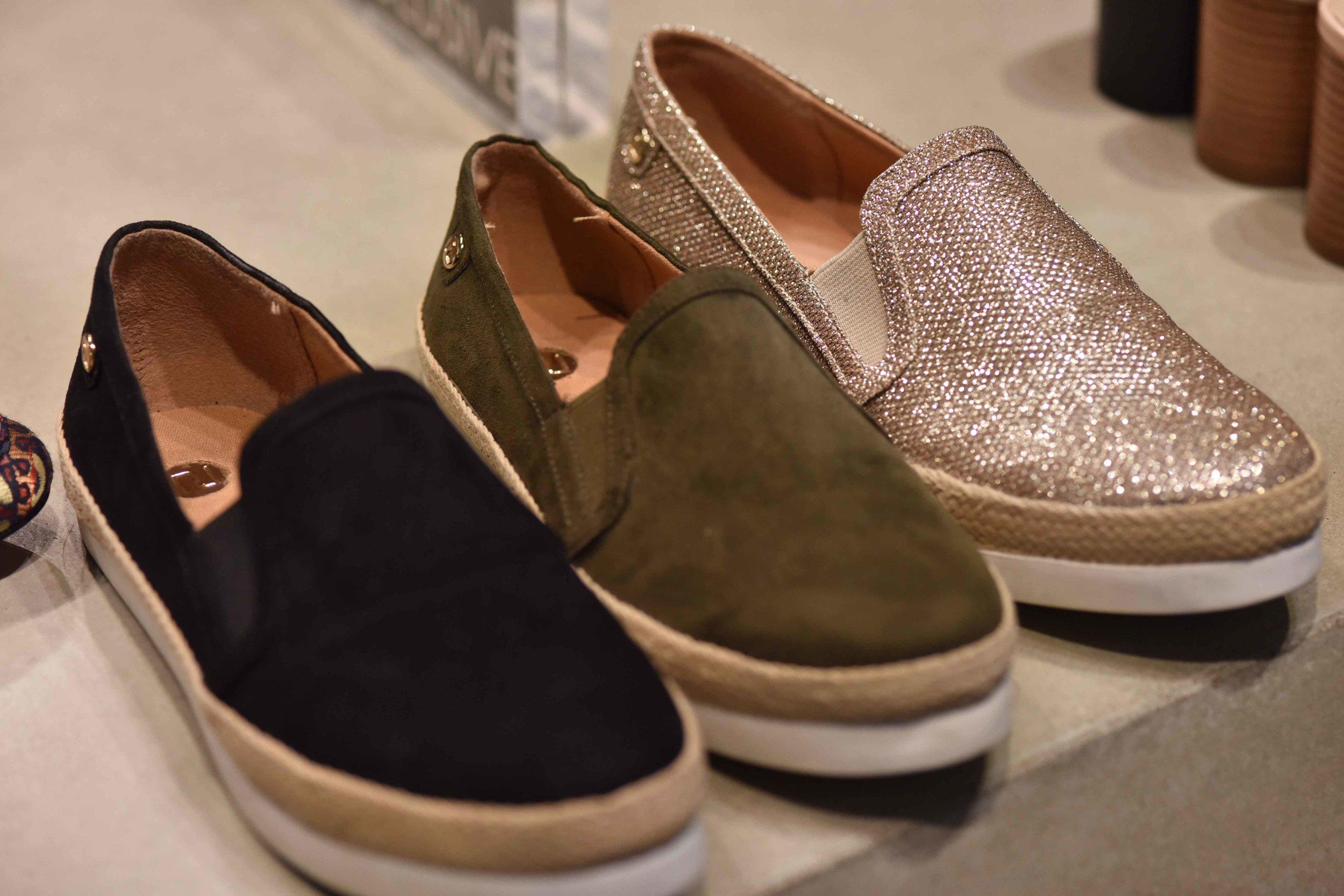 Selfridges, shoe section, London, U.K. Image©sourcingstyle.com