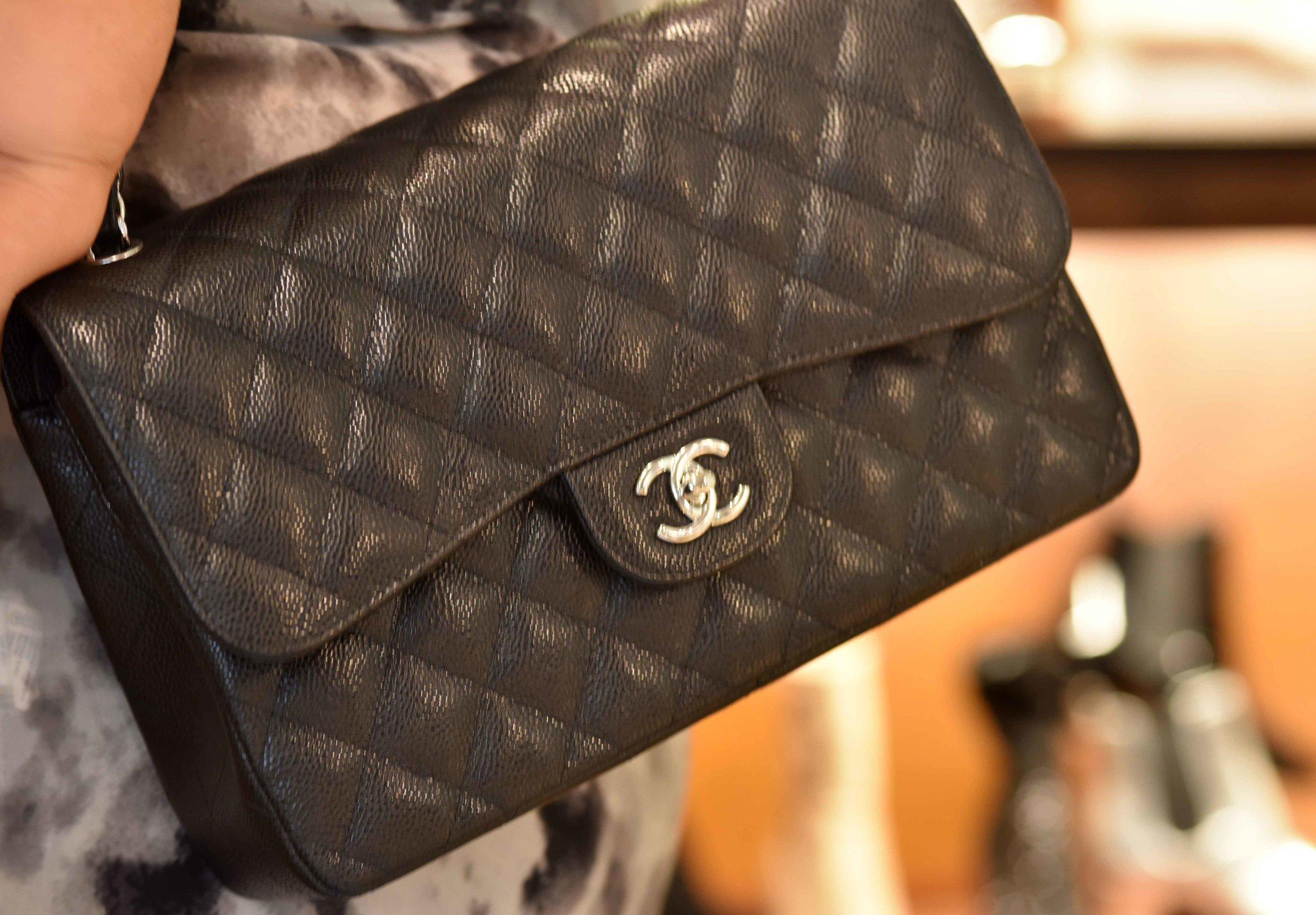 Chanel bag, Selfridges, London, U.K. Image©sourcingstyle.com