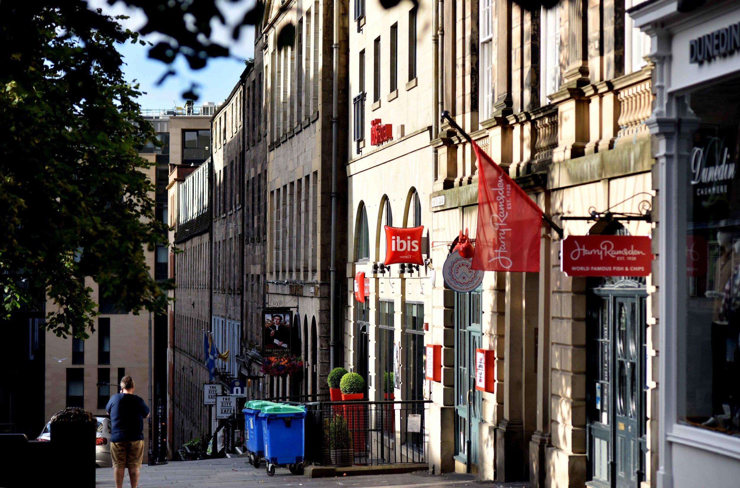 Ibis Royal Mile, Edinburgh, Scotland. Imagecopyright sourcingstyle.com