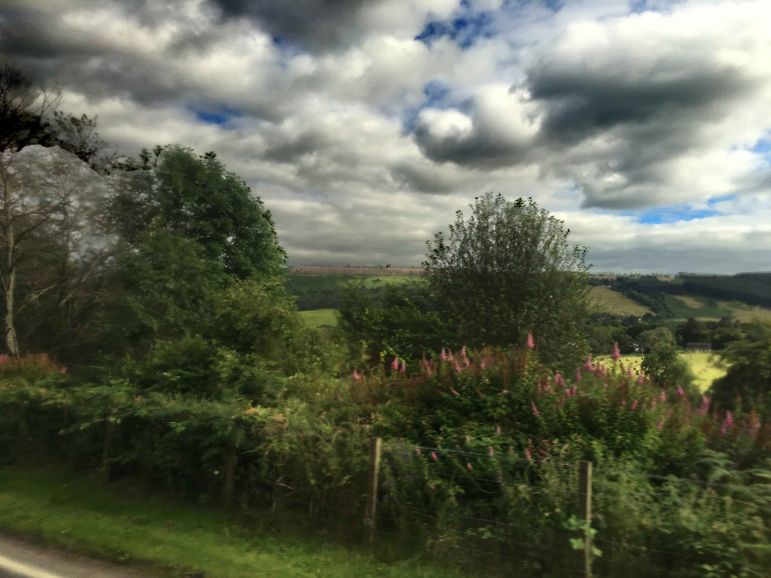 From Inverness to Loch Ness, bus ride, Scottish Highlands, Scotland. Image©sourcingstyle.com