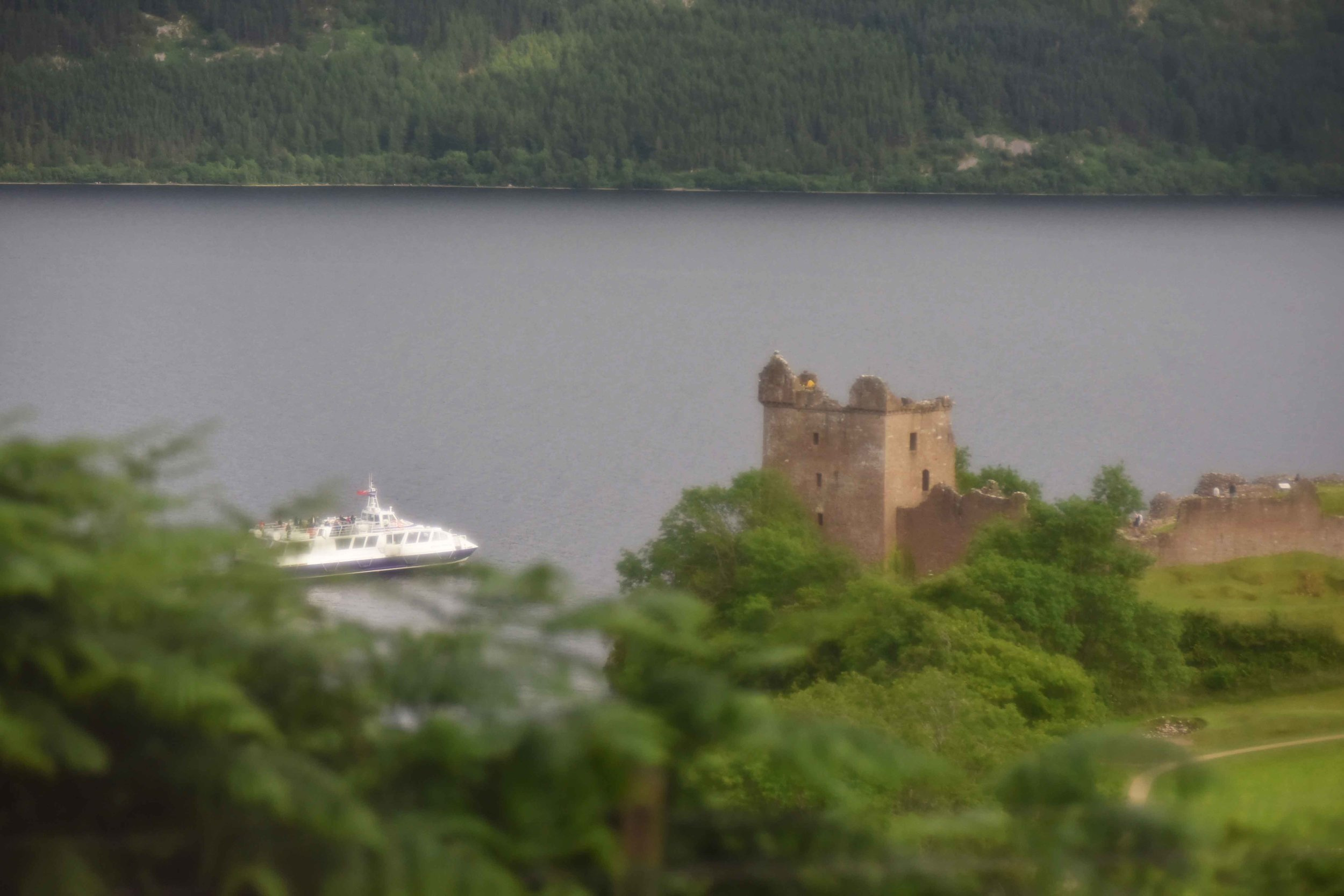 Urquhart Castle, Loch Ness, Scotland. Image©sourcingstyle.com