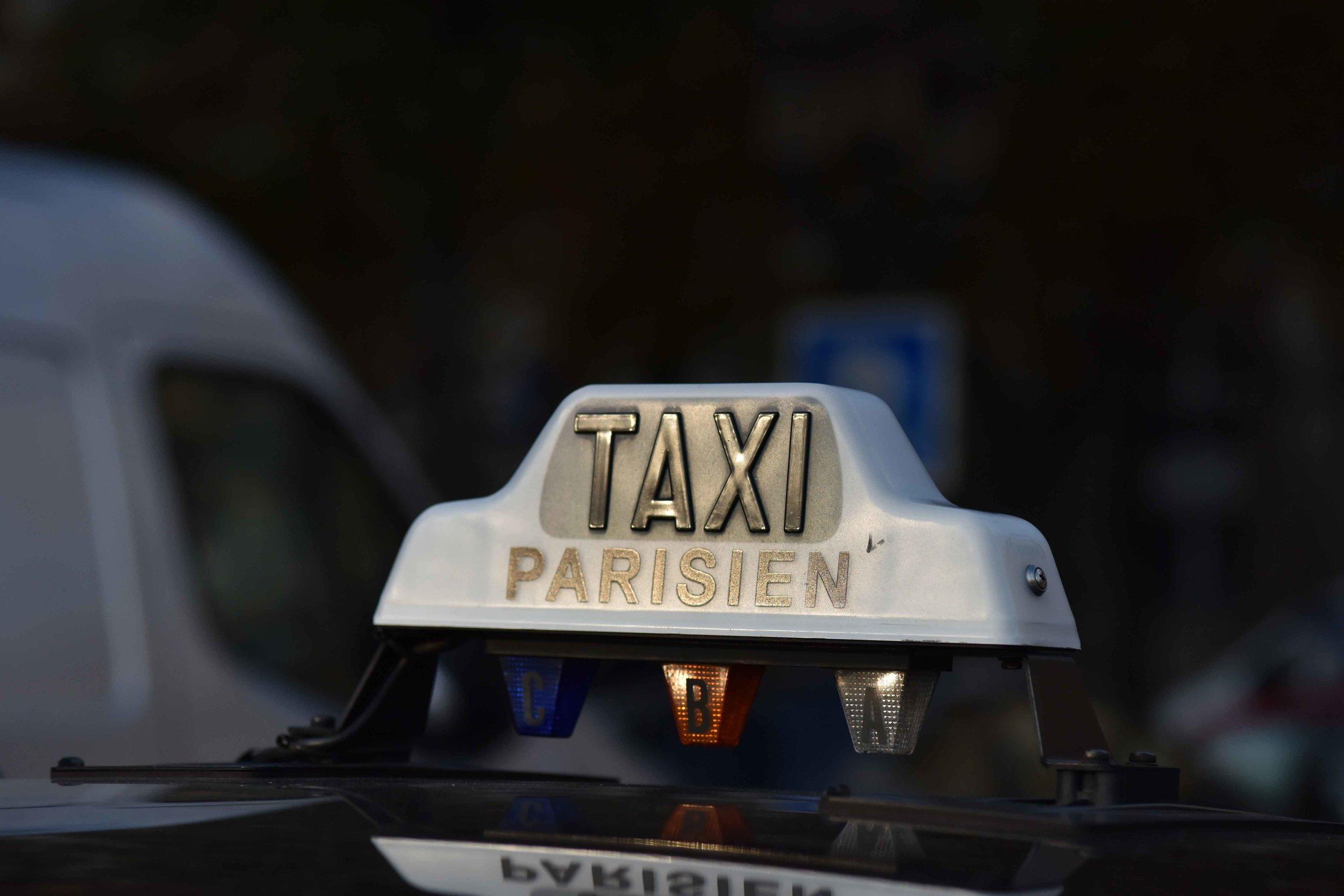 Paris taxi, Paris, France. Image©sourcingstyle.com