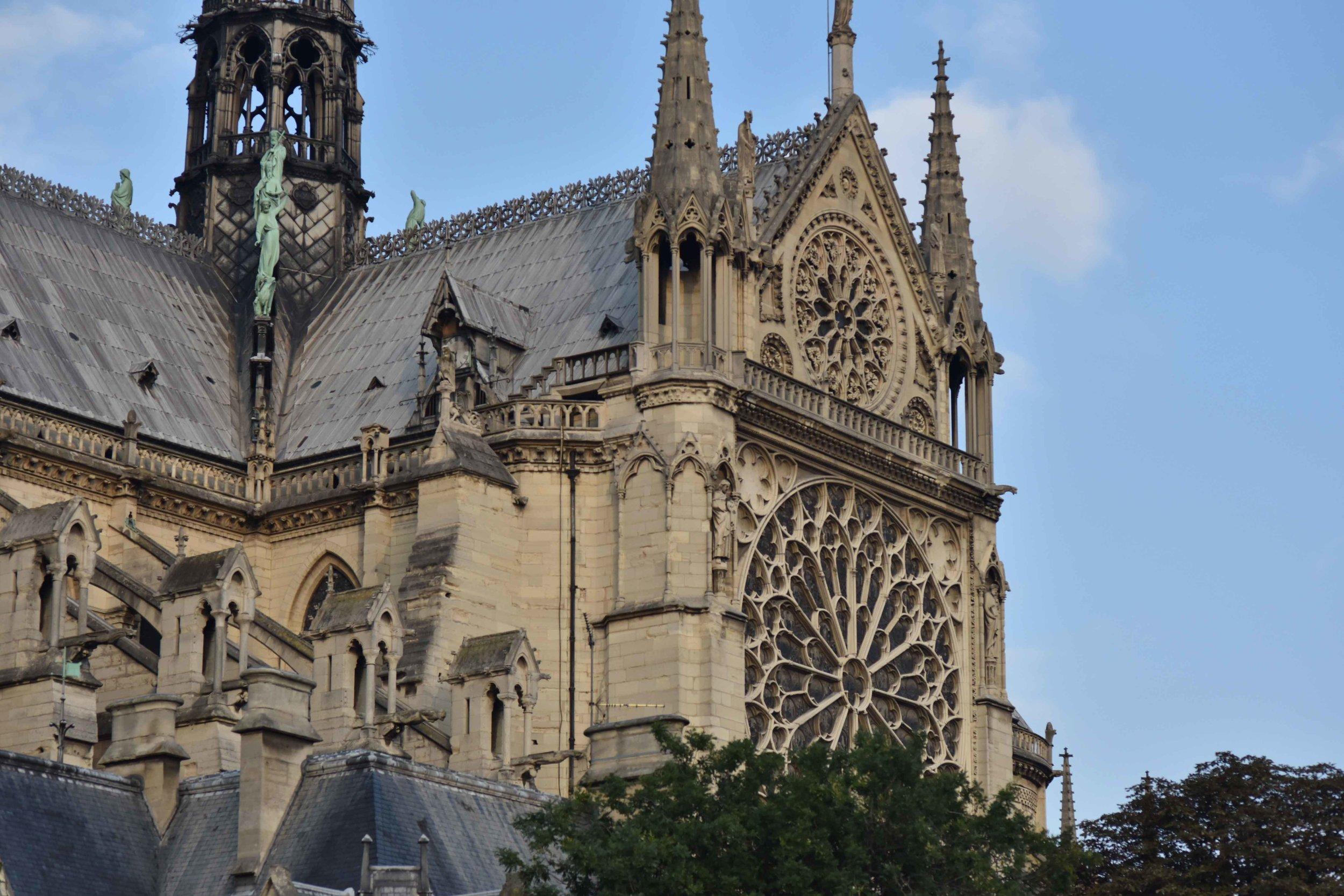 Notre-Dame Cathedral, Paris, France. Image©sourcingstyle.com