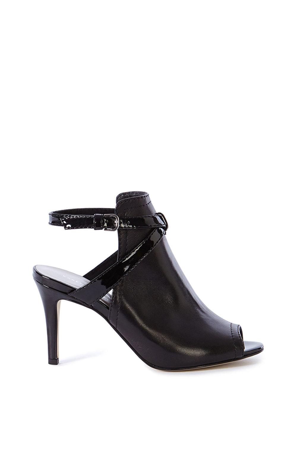 Black Karen Millen sandals from karenmillen.com