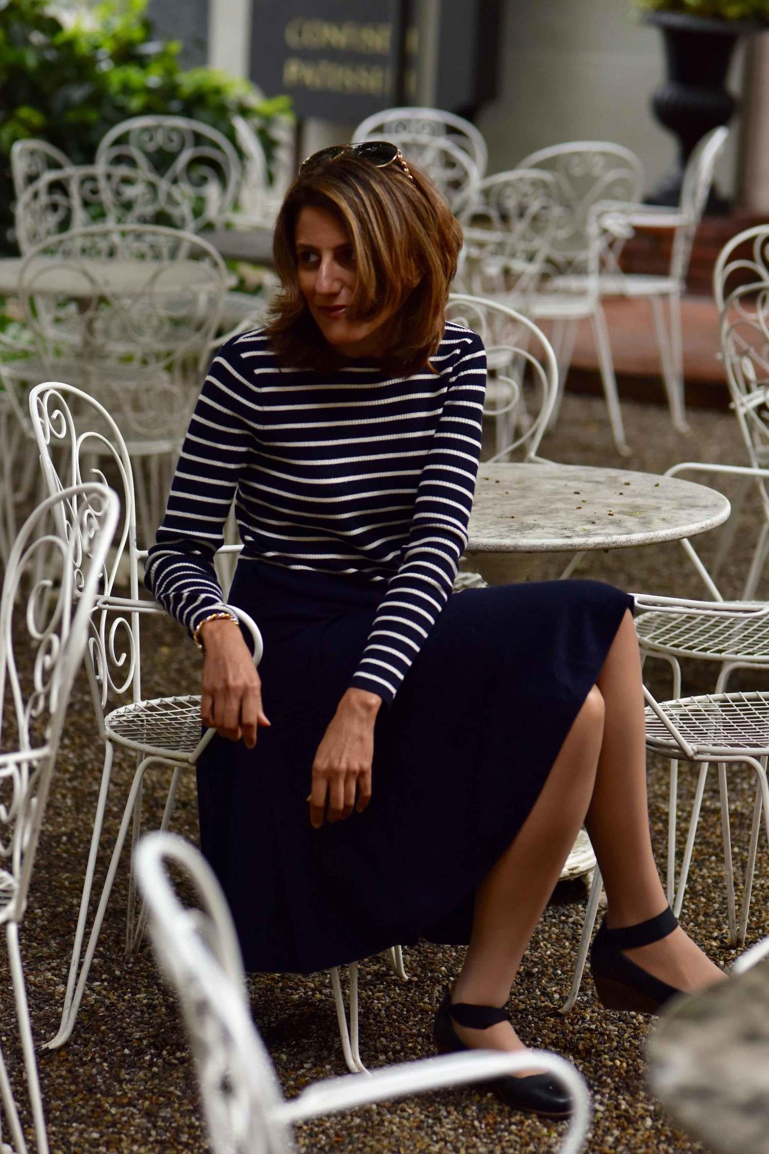 Ralph Lauren dress, Baden Baden, Germany. Image©sourcingstyle.com