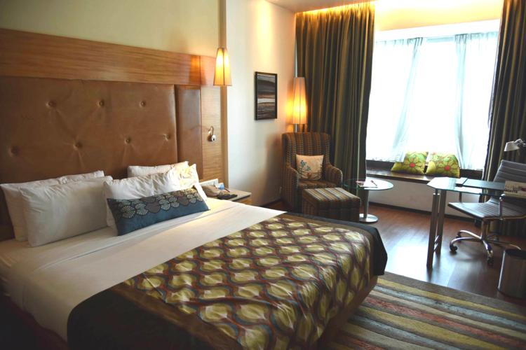 Business Class room, Radisson Blu Hotel, Ranchi, Jharkhand, India. Image©sourcingstyle.com.