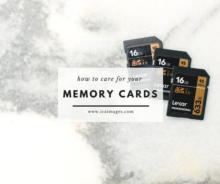 Want to learn how to - take care of your memory cards?