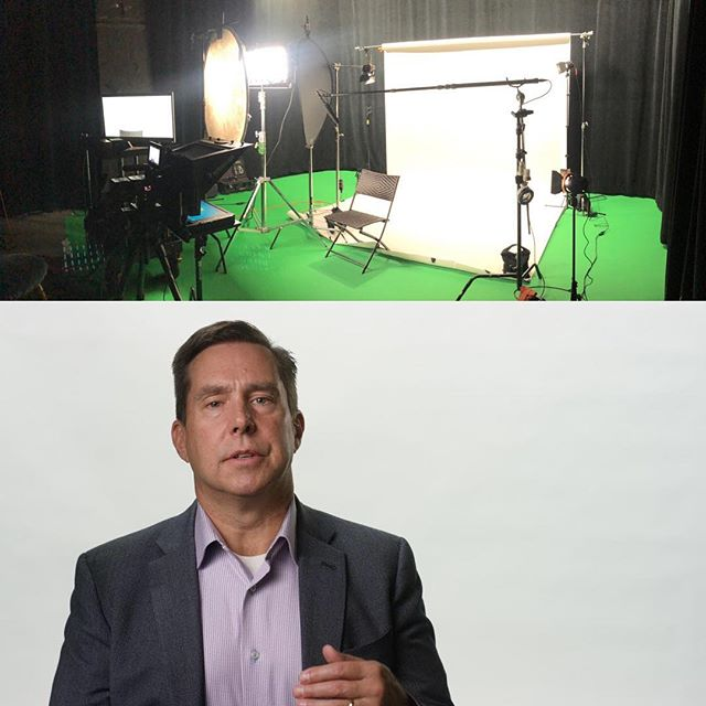 Some creative talking-head lighting using a #litepanelsgemini and a #litepanelssola kit with a bounce and a negative fill. Shot on #redweapon6k with #sigmacinelens @victorystudios @litepanels @salesreadinessgroup