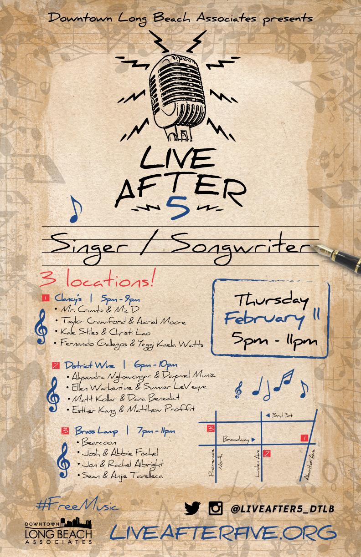 FEBRUARY - SINGER / SONGWRITER