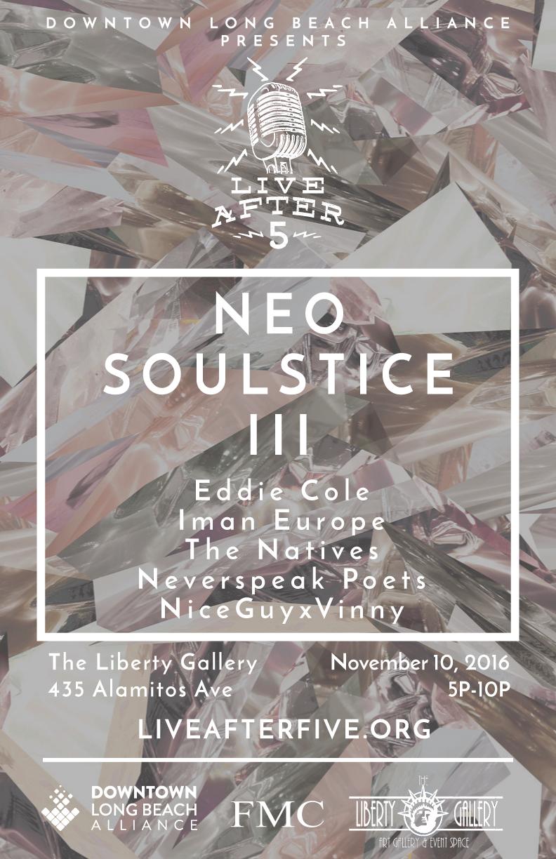 NOVEMBER - NEO SOULSTICE III