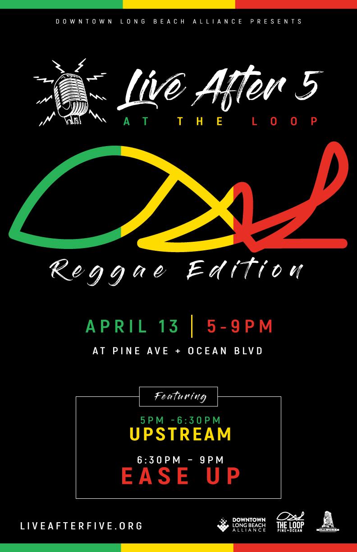 APRIL - Reggae Edition