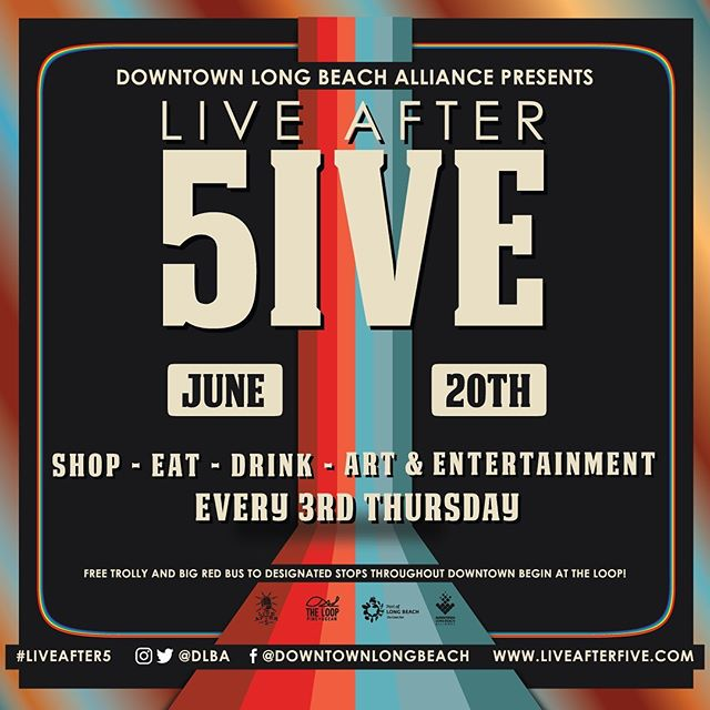 Who's ready for 🎙 #LiveAfter5ive June!? #DTLB #lbc #longbeach #downyiwnlongbeach