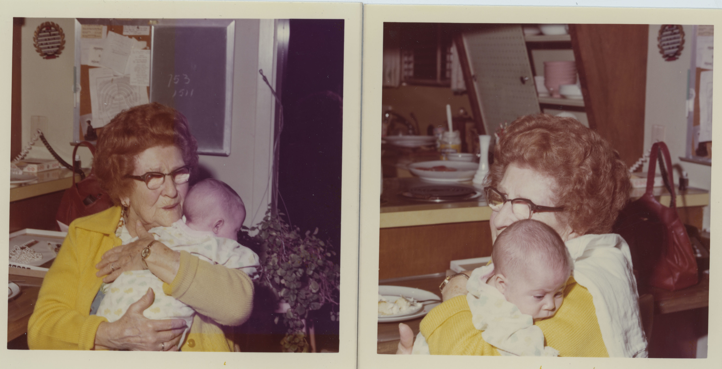 Photos by James Jasek; that's baby me