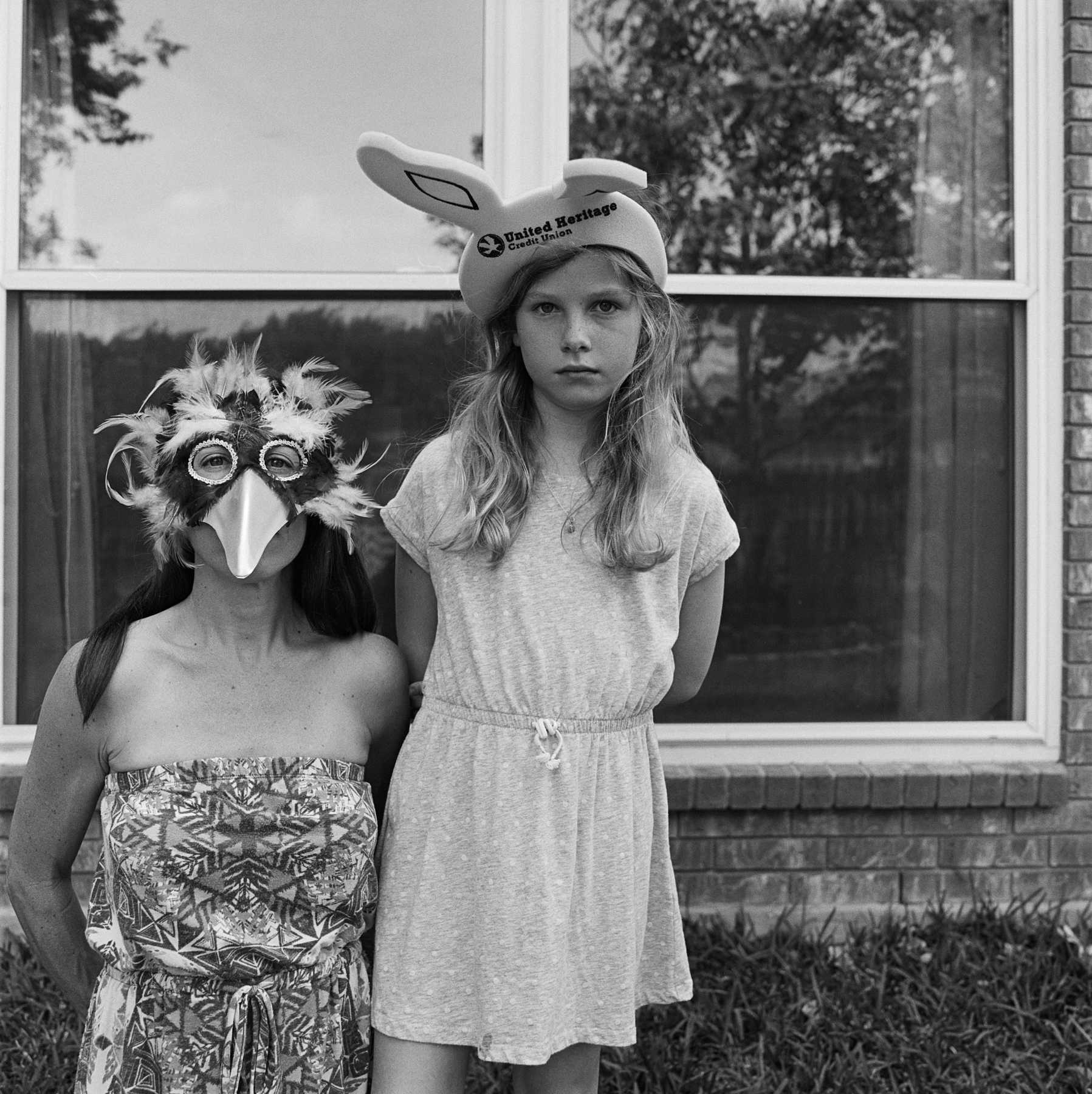 me & Louise easter masks (1 of 1).jpg