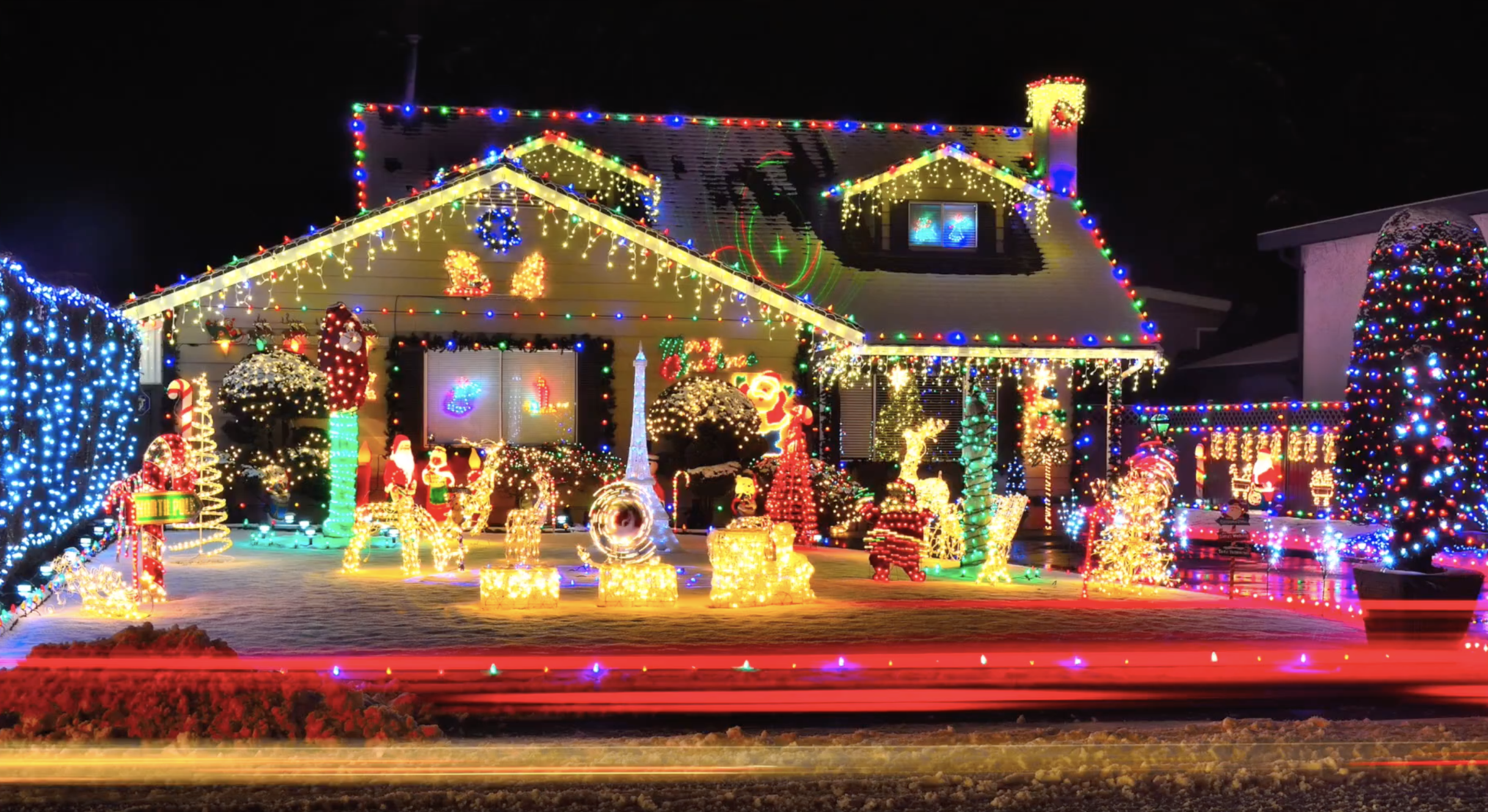 Solve It: Holiday Lighting - Your challenge: To design a solution to lighting up a holiday display when you are not close to a power source.