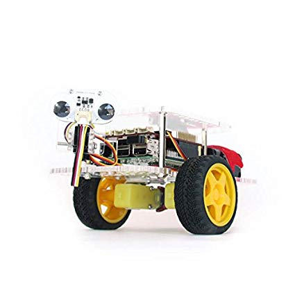 GoPiGo 3 - Students build and program their own robotic car, with the ability to support many optional sensors. It runs off a Raspberry Pi and can be programmed with Scratch & Python.