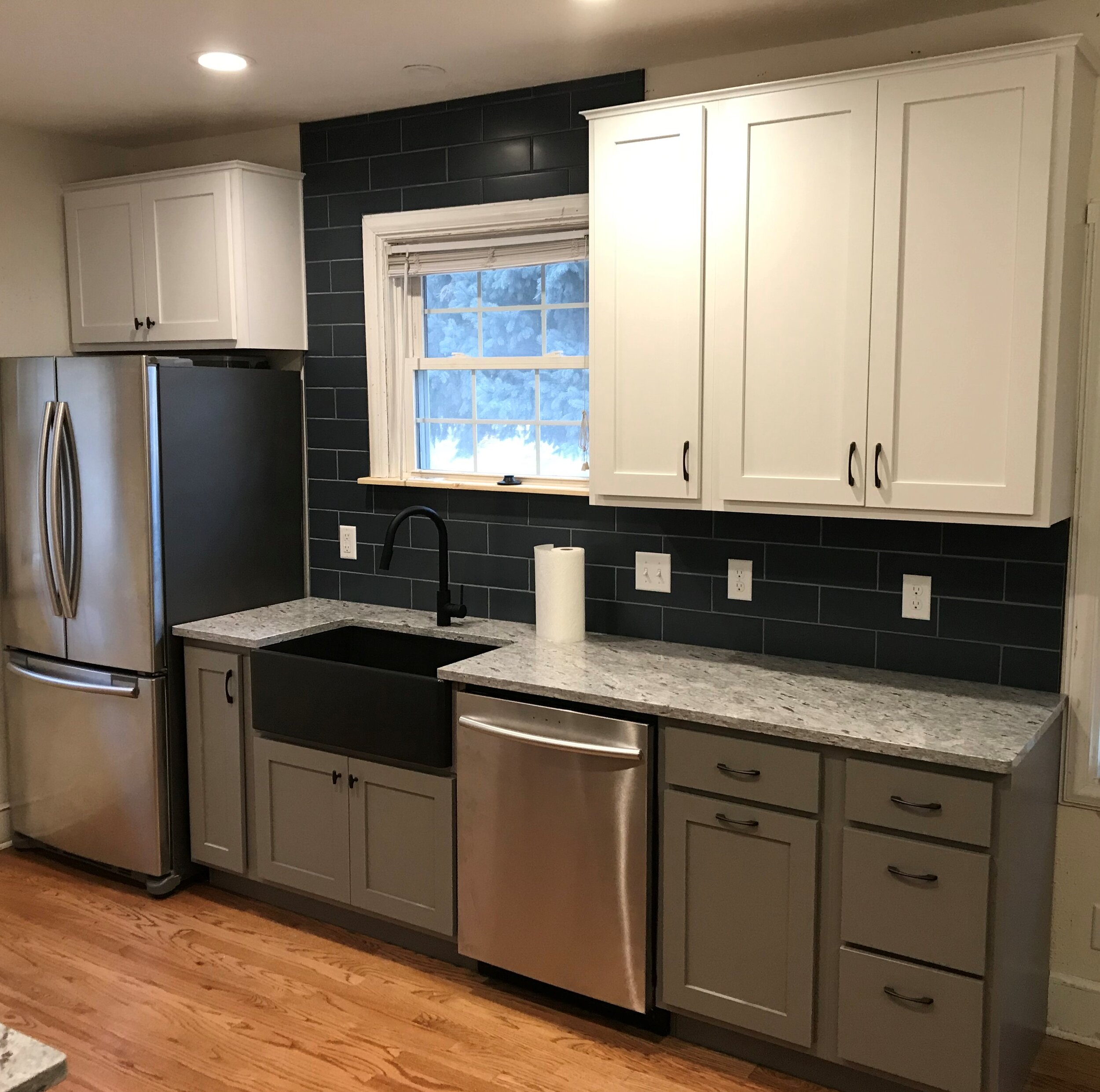 Tiny Kitchen Remodel Deloa Sons Construction Inc