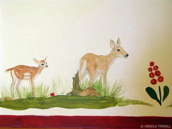 2006 Alpine Animals Child's Bedroom Detail Bambi Sugarbowl, CA.jpg
