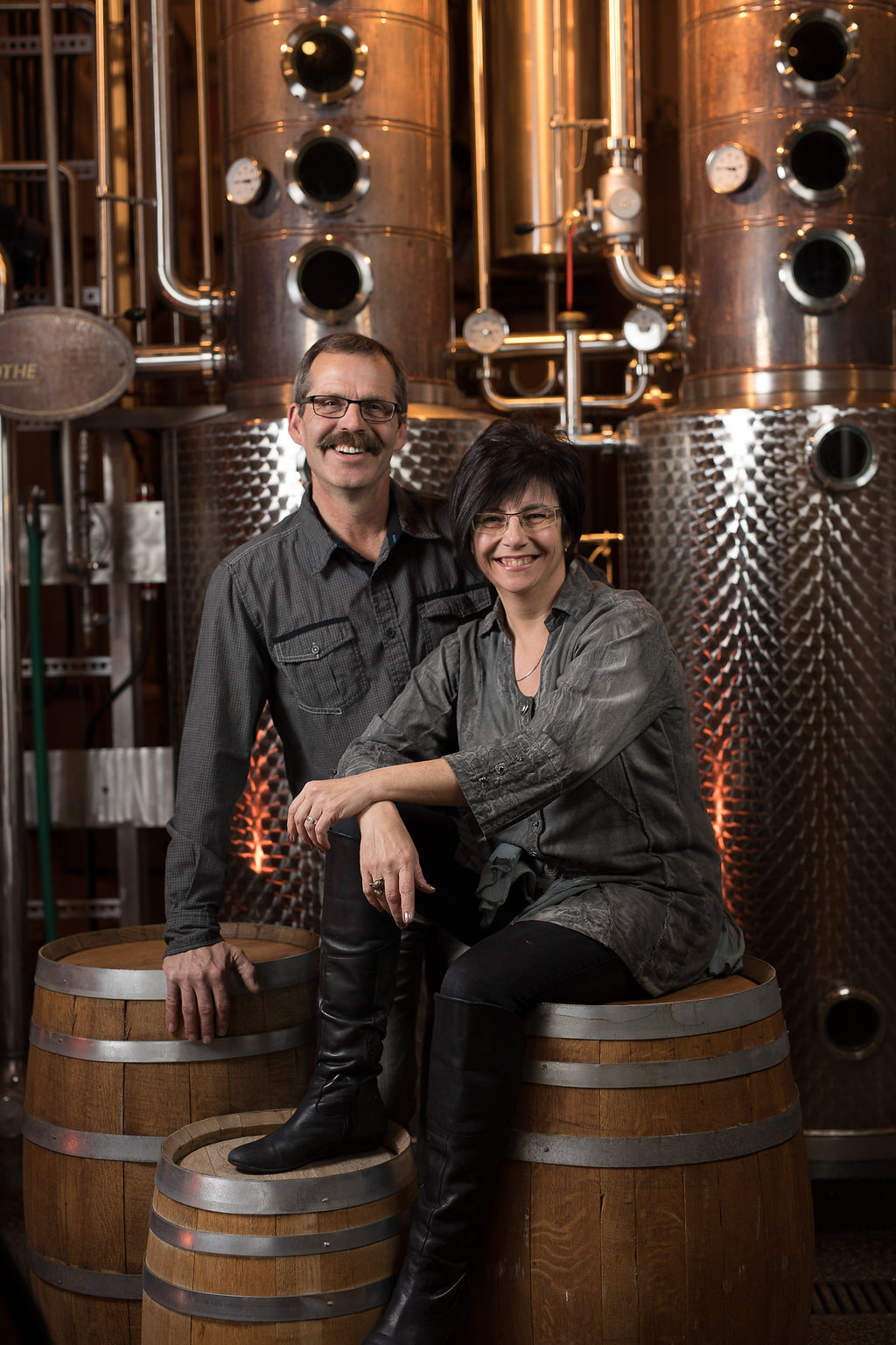 Founders John Cote and Barb Stefanyshyn-Cote