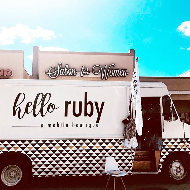APRIL 13th COME GLAM & SHOP!🥂👙👛👗✨🛍 @hellorubytruck will be back at the salon hanging out with us from 11AM-3PM APRIL 13th! Come Join! #omahanebraska #popupshop #omaha #hellorubytruck #omahahairstylist #markyourcalendars #omahamakeupartist #glam #friday #april13