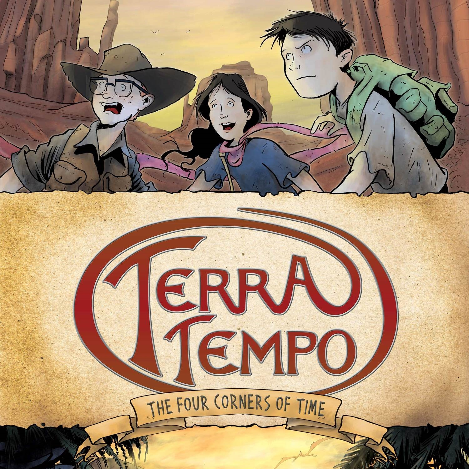Terra Tempo: FOUR CORNERS OF TIME   SOLD OUT