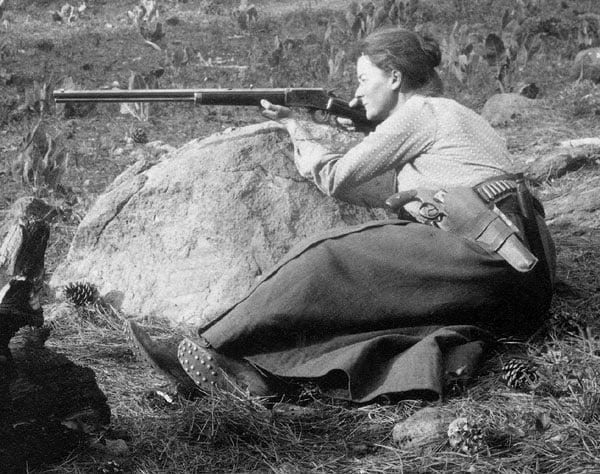 Annie Montague Alexander at Fossil Lake