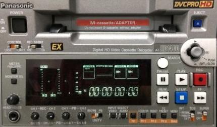 Panasonic AJ-HD1400 DVCPRO HD VTR