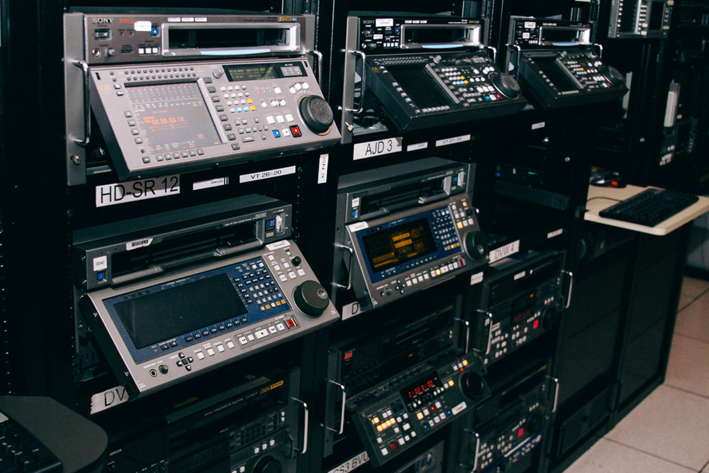 Professional video digitization services in Los Angeles, CA