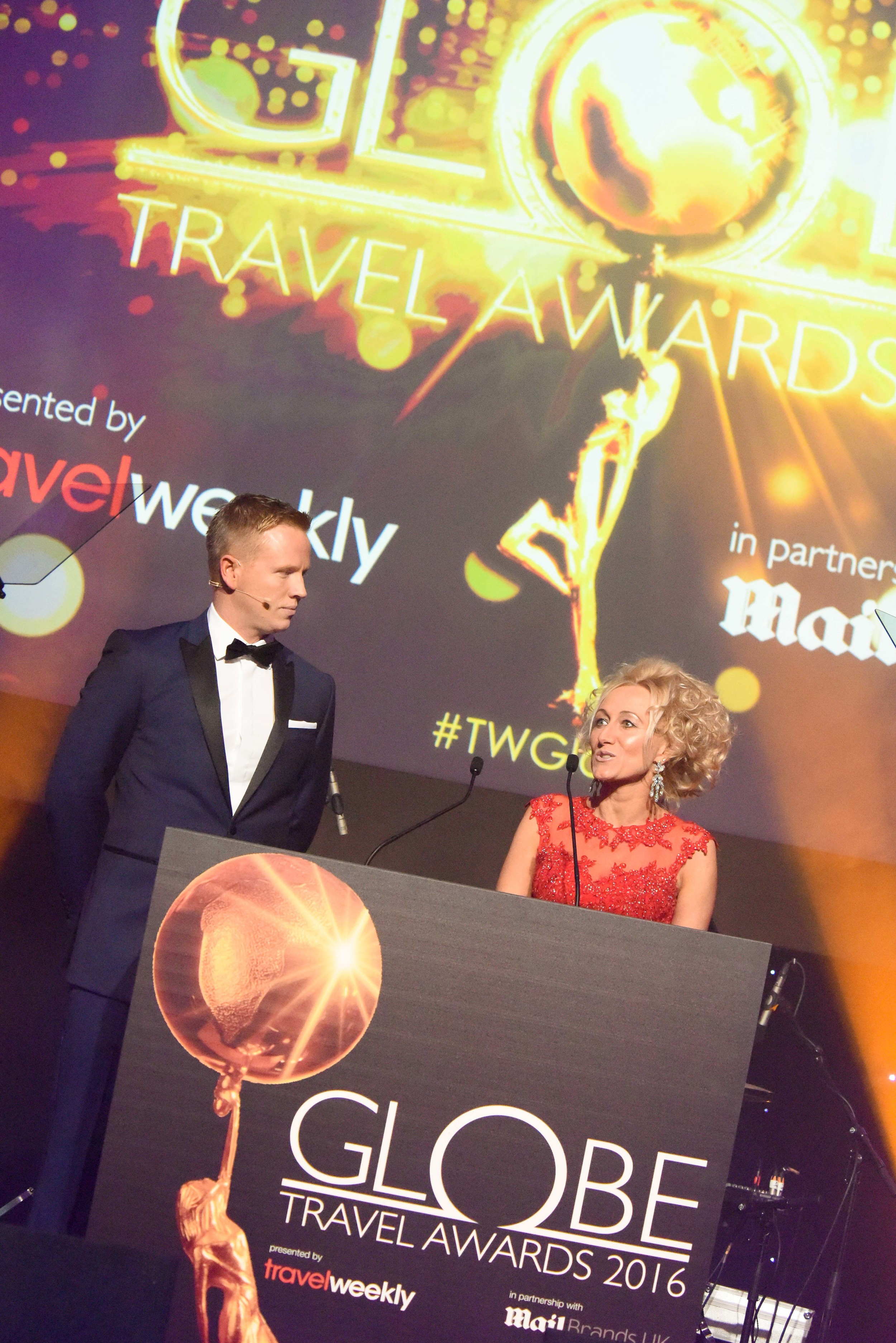 Travel Weekly's Managing Director Stuart Parish and Editor-in-chief Lucy Huxley.Copyright  © teve Dunlop.