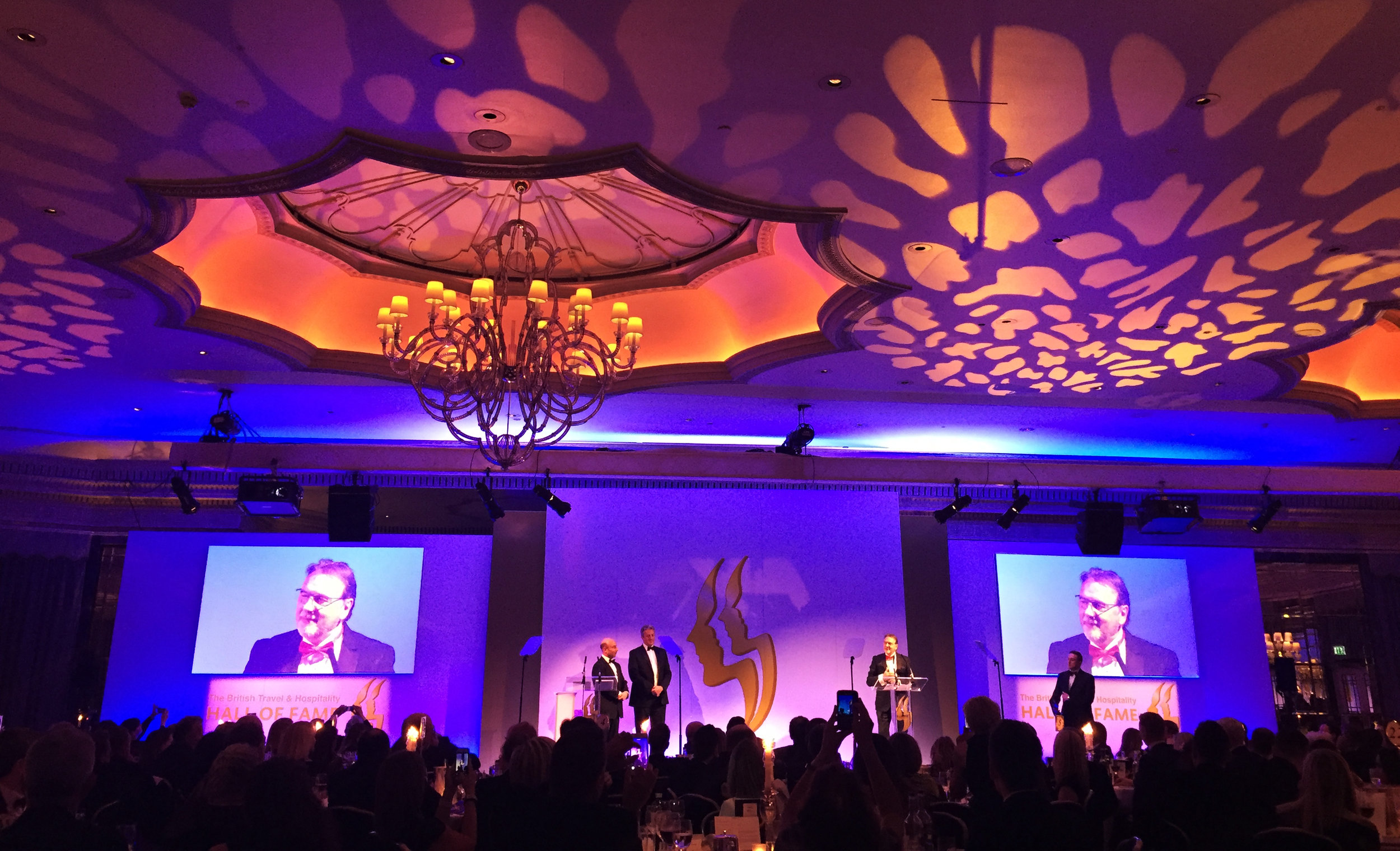 Raymond Blanc honoured at the 2017 Travel and Hospitality Hall of Fame