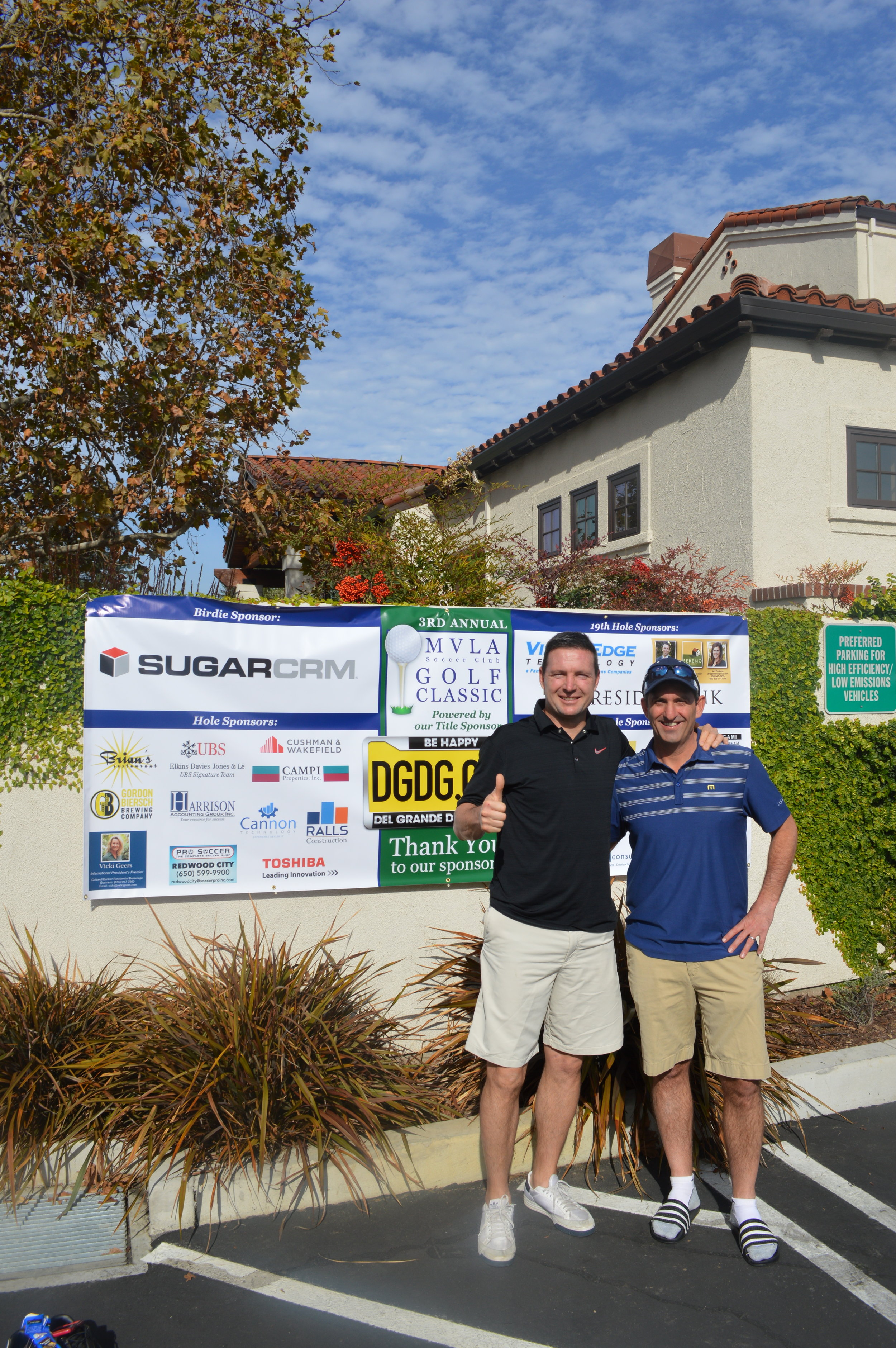 MVLA Director Joe Cannon and Will Steadman of DGDG