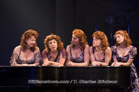 From Left to Right: Donna McKechnie, Diana DiMarzio, Jessica Tyler Wright, Jane Pfitsch, Lauren Molina