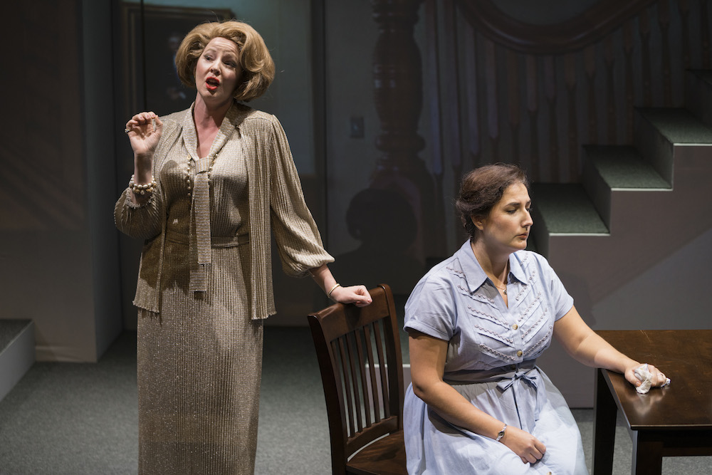This is me as Vera with Mezzo Soprano Lisa Chavez singing the title role of Dolores Claiborne.