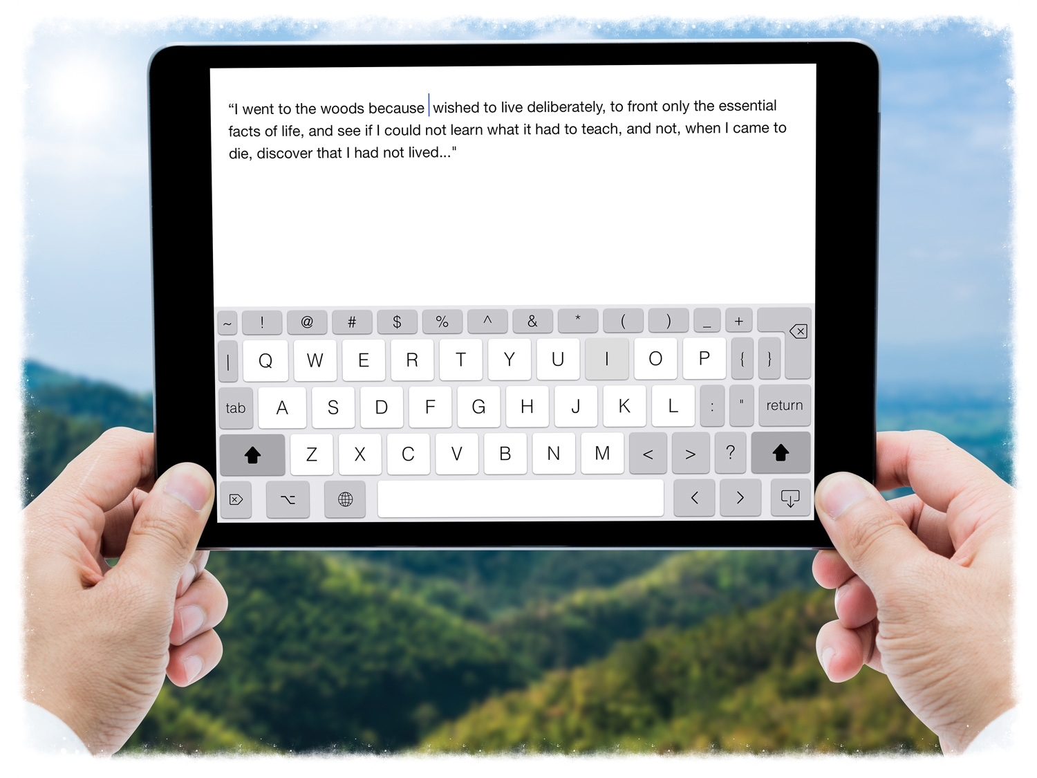 Make the most of your iPad or iPhone and increase your productivity with PadKeys iOS keyboard. PadKeys is designed for writers, students, professionals, programmers, editors and anyone who needs to type quickly and precisely on the go.