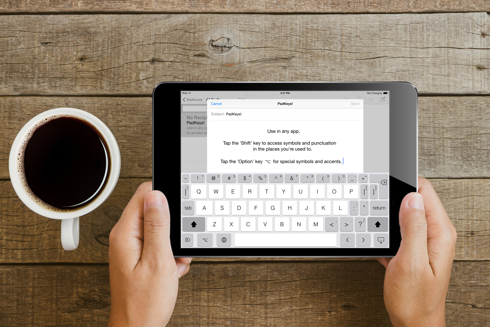 Finally   A (Real) keyboard    for your iPad